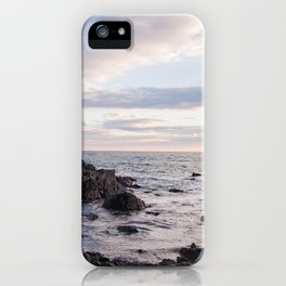 Maine Sunset iPhone Case