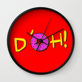 The Simpsons: D´oh! Wall Clock