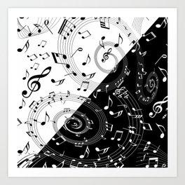 i love music Art Print