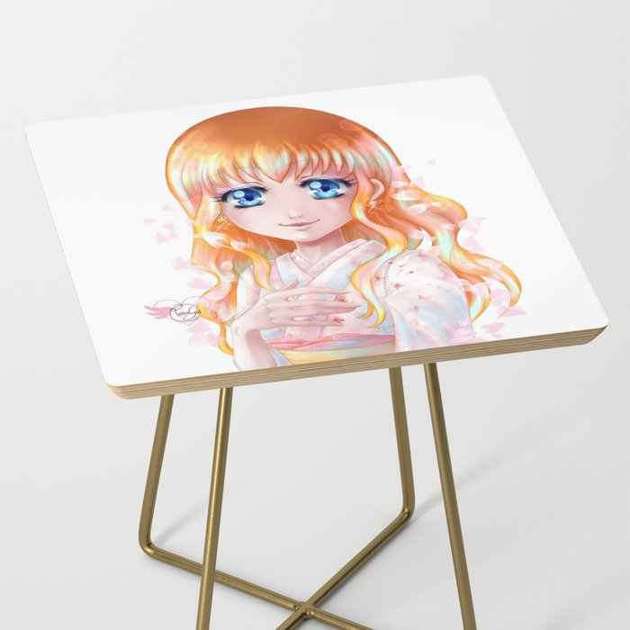 Hana floraison Side Table