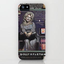 Dolly Parton iPhone Case
