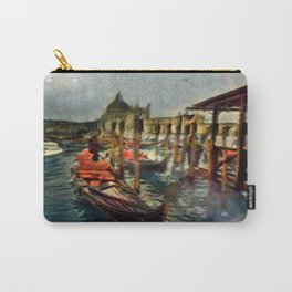Waterway At Dusk Carry-All Pouch