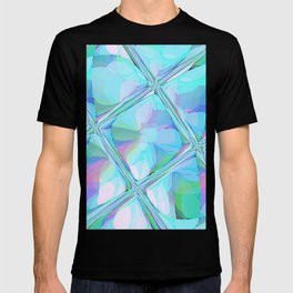 Re-Created  Glass Ceiling VII by Robert S. Lee T-shirt
