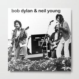 neil young and bob dylan concert tour 2020 ngapril Metal Print
