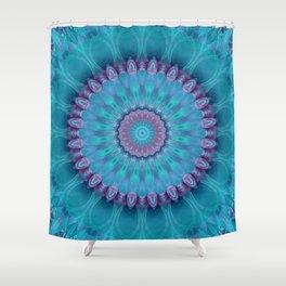 Mandala turquoise no. 2 Shower Curtain