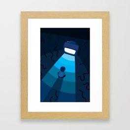Stay Tuned Framed Art Print