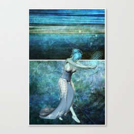 Queen of the sea... Diptych Canvas Print