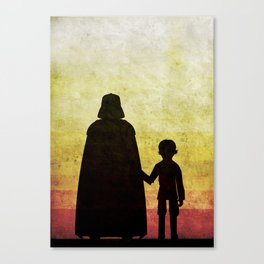 Darth Father's Day  Canvas Print