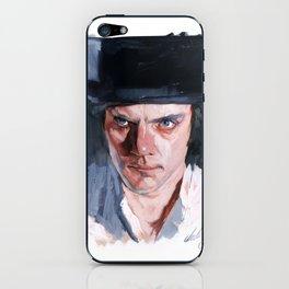 Malcolm McDowell iPhone Skin
