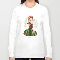 poland Long Sleeve T-shirts featuring Poland by Melissa Ballesteros Parada
