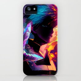 Neon Hot-Cold iPhone Case