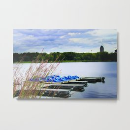 Gray's Lake - Des Moines Metal Print