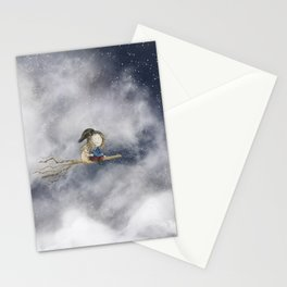 Up In The Night Stationery Cards