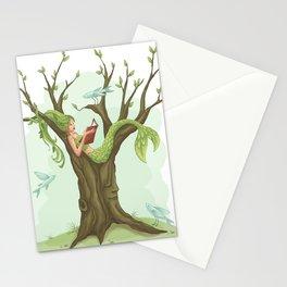 Mermaid Tree Stationery Cards