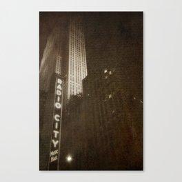 Radio City Memories Canvas Print