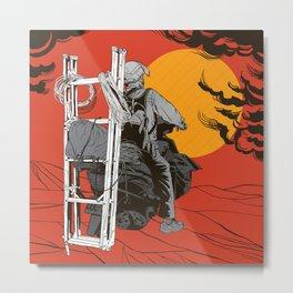 Ladder To The Sun Metal Print