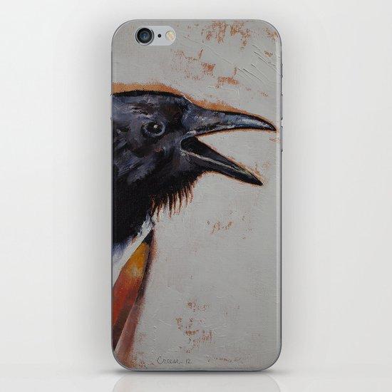 Raven Sketch iPhone & iPod Skin
