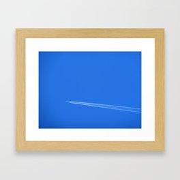 away Framed Art Print