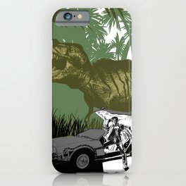 Back to the Jurassic iPhone Case