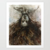 Unruly Ambience Art Print