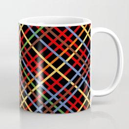 Metro Weave 45 Black Coffee Mug