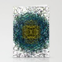 geode Stationery Cards featuring Geode Abstract 01 by Charma Rose