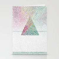 confetti Stationery Cards featuring CONFETTI by Kath Korth