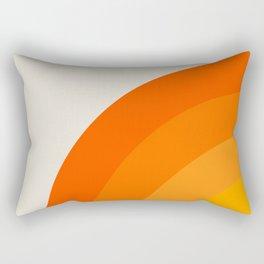 Sunrise Rainbow - Left Side Rectangular Pillow