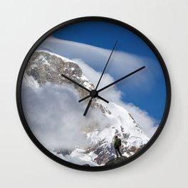 Take a deep breath Wall Clock