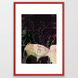 Midsummer night Framed Art Print