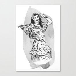 Nagwa Canvas Print