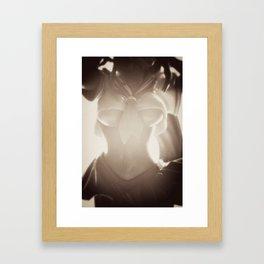 Plastic Erotica: Tie Framed Art Print
