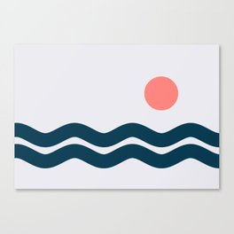 Nautical 06 No.2 Canvas Print