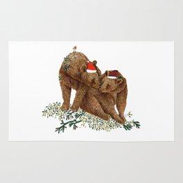 christmas bears Rug