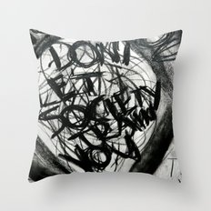 Don't Let Society Train You Throw Pillow