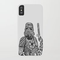 storm trooper iPhone & iPod Cases featuring Storm Trooper  by ATELOPHILIA DESIGNS