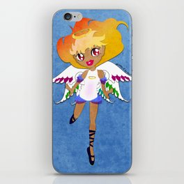 Rainbow Cupid v02 iPhone Skin