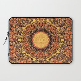 Marigold Mandala Laptop Sleeve