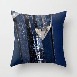 Crystal Love Throw Pillow