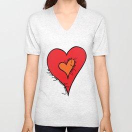I carry your heart Unisex V-Neck