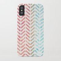 herringbone iPhone & iPod Cases featuring Herringbone by Chilligraphy