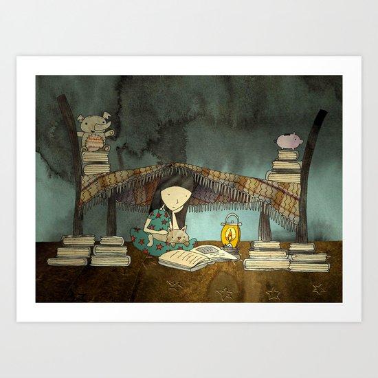 Monsters, Mermaids, Castles and Kings Art Print