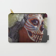Tiger Blossom Muertita Detail Carry-All Pouch