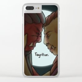 We'll Get Through This. Clear iPhone Case