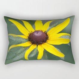 Black Eyed Susan Flower Rectangular Pillow