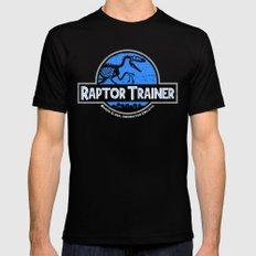 Raptor Trainer LARGE Black Mens Fitted Tee