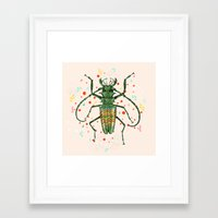 insect Framed Art Prints featuring Insect V by dogooder