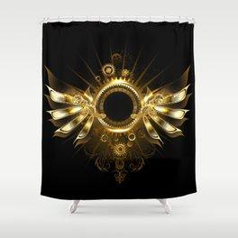Mechanical Wings ( Steampunk Wings ) Shower Curtain