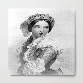 Princess of France Metal Print
