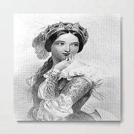 Princess of France Metal Print